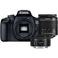 Canon EOS 4000D DSLR Camera with 18-55mm & 50mm Lenses
