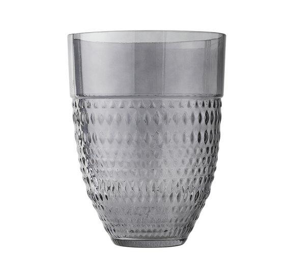 Buy Argos Home Nomadic Traveller Smoked Glass Vase Vases Argos