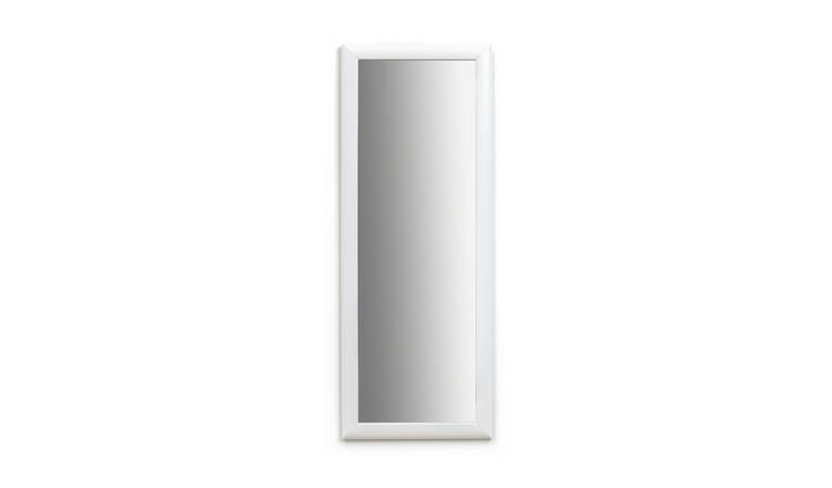 Argos Home Framed Wall Mirror - White