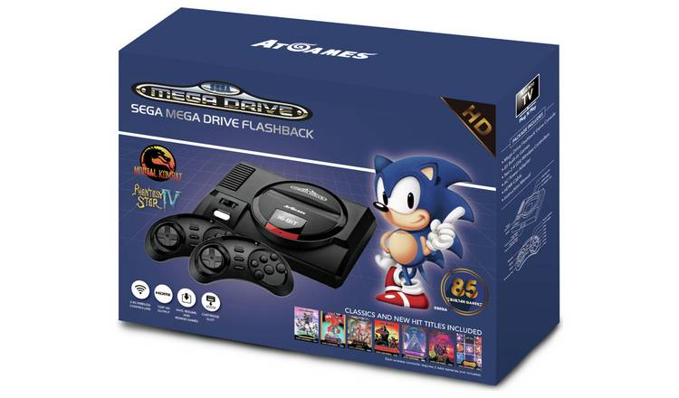 Buy SEGA Mega Drive Flashback with 85 Games | Video games and consoles |  Argos