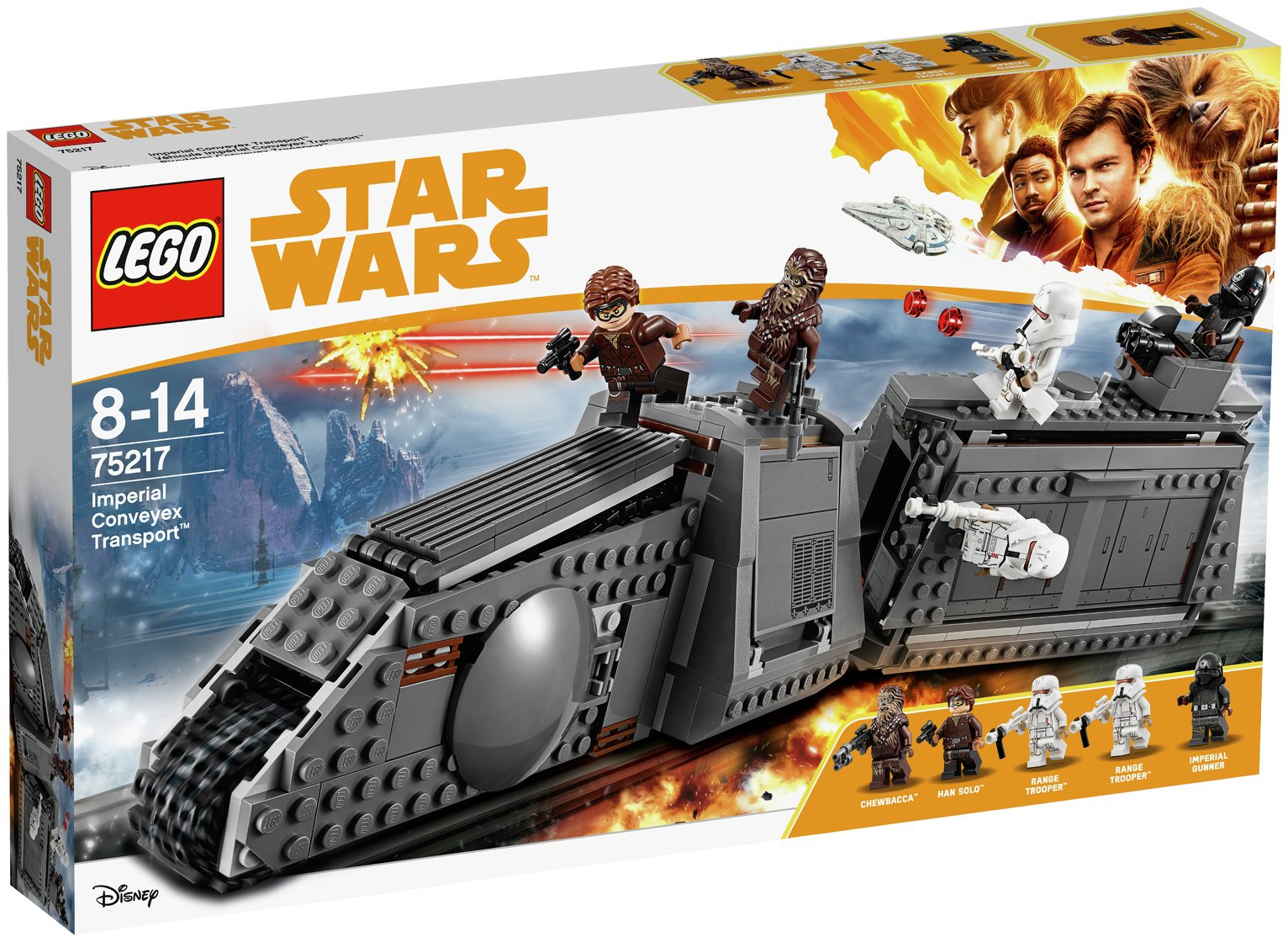 LEGO Star Wars Imperial Conveyex Transport - 75217