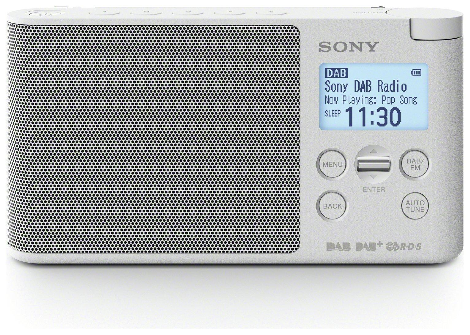 Sony DS41 DAB Radio - White