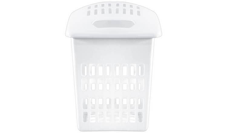 Argos Home 54 Litre Laundry Hamper - White