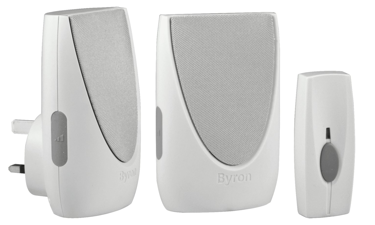 Byron BY236 125m Wireless Doorbell Twin Pack