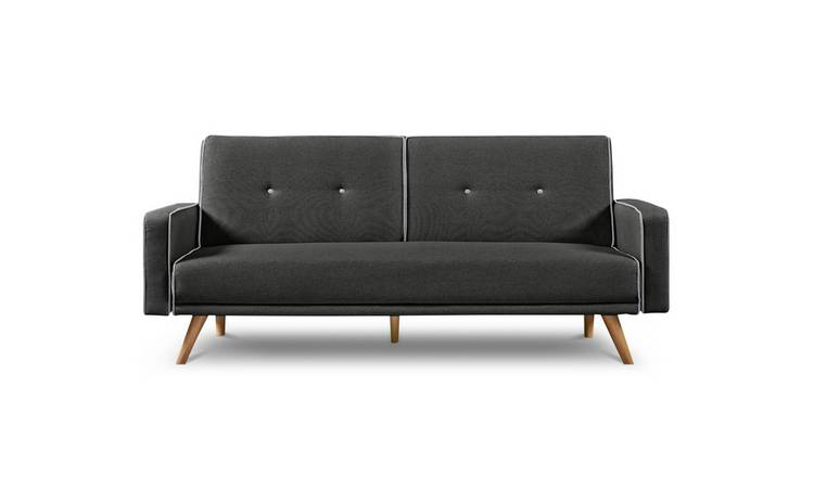 Habitat Frankie 2 Seater Clic Clac Sofa Bed - Charcoal