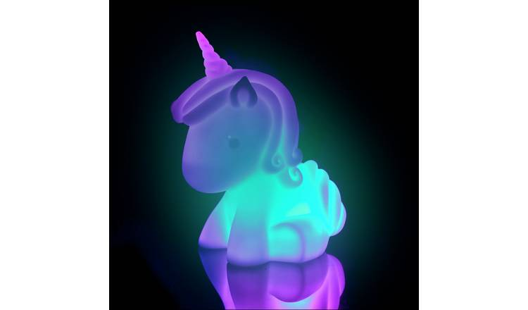Pretty Pink Large Colour Changing Unicorn Light