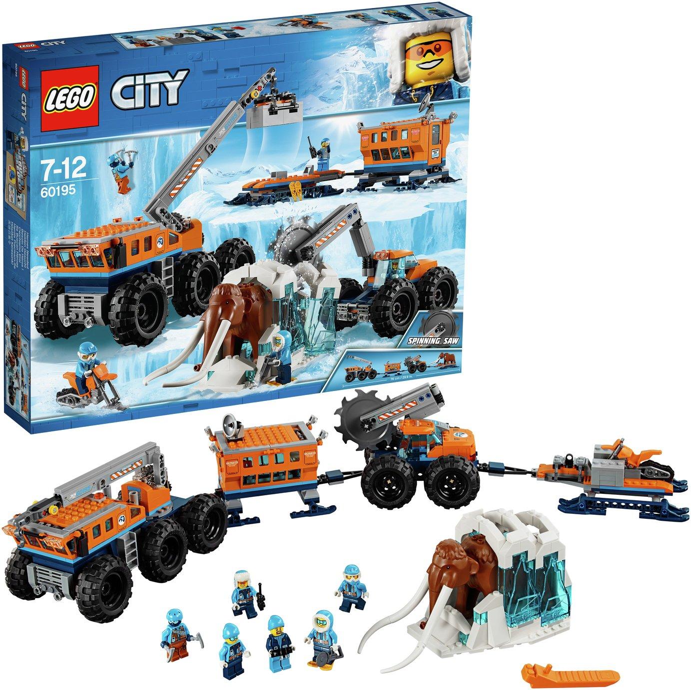 LEGO City Arctic Mobile Exploration Base Toy - 60195