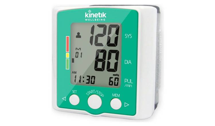 Kinetik Wellbeing Advanced Wrist Blood Pressure Monitor