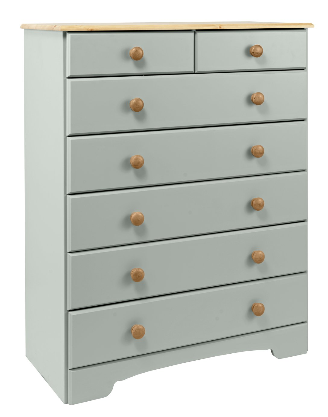 Argos Home Nordic Grey Pine 52 Drawer Chest