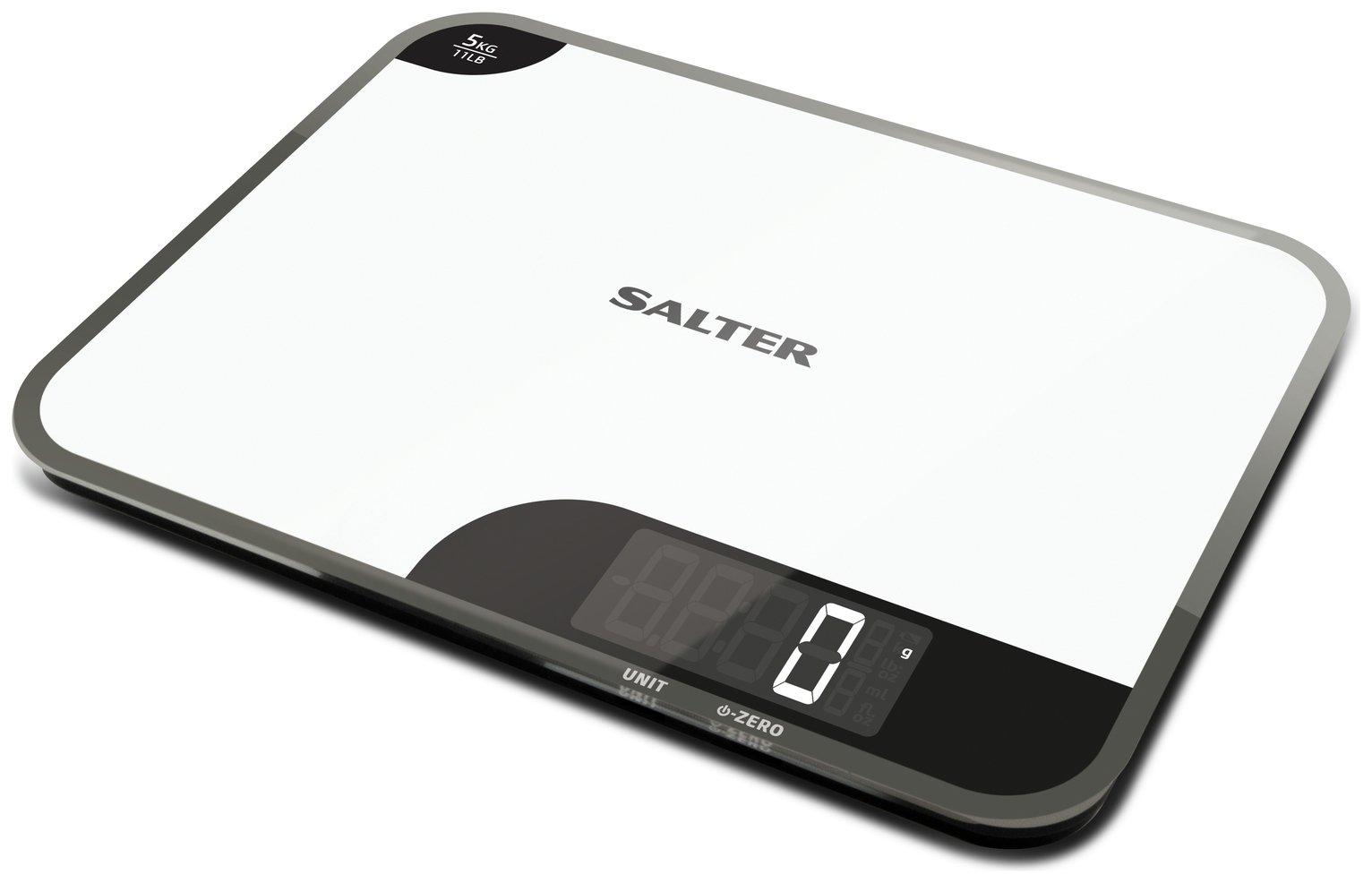 Salter Mini Max Digital Kitchen Scale - White