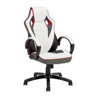 X-Rocker Leather Effect Gaming Chair - White