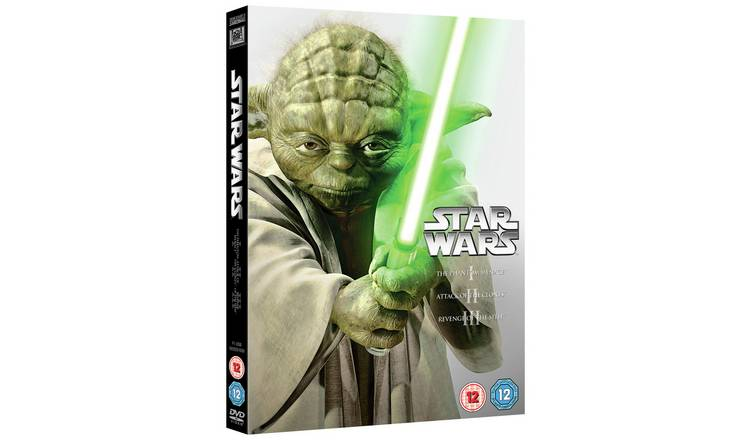 Buy Star Wars The Prequel Trilogy Dvd Box Set Dvds And Blu Ray Argos