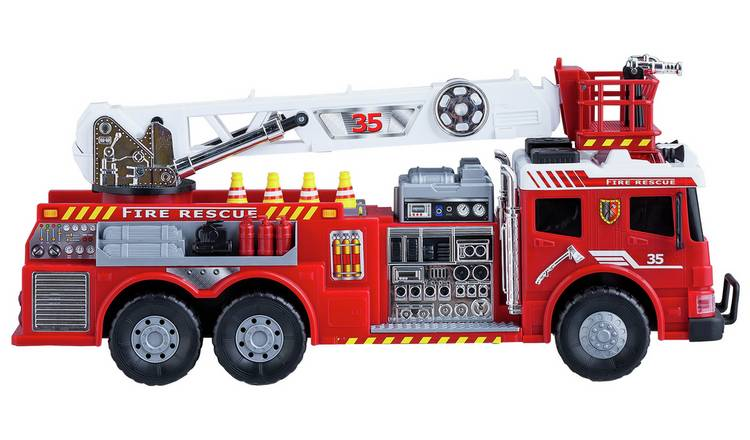 Fire Truck With Ladder Green Toys Free Shipping!