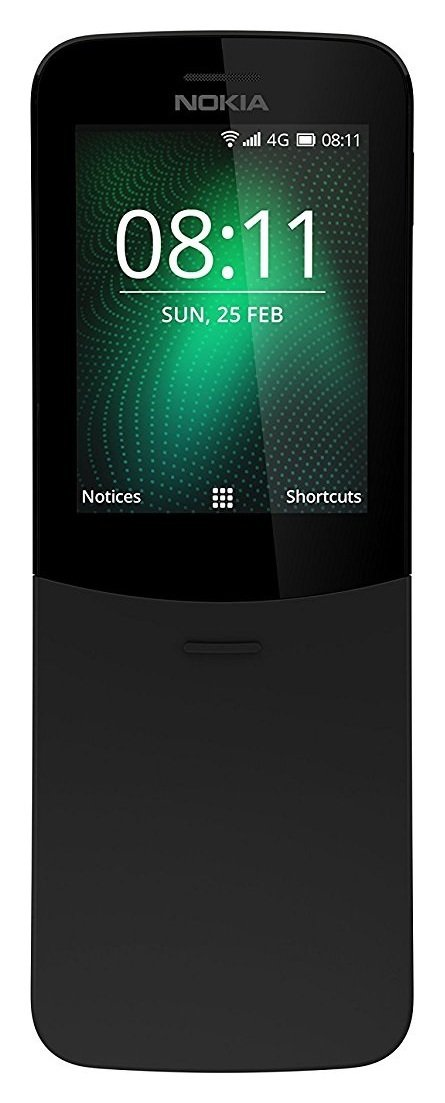 SIM Free Nokia 8110 Mobile Phone - Black
