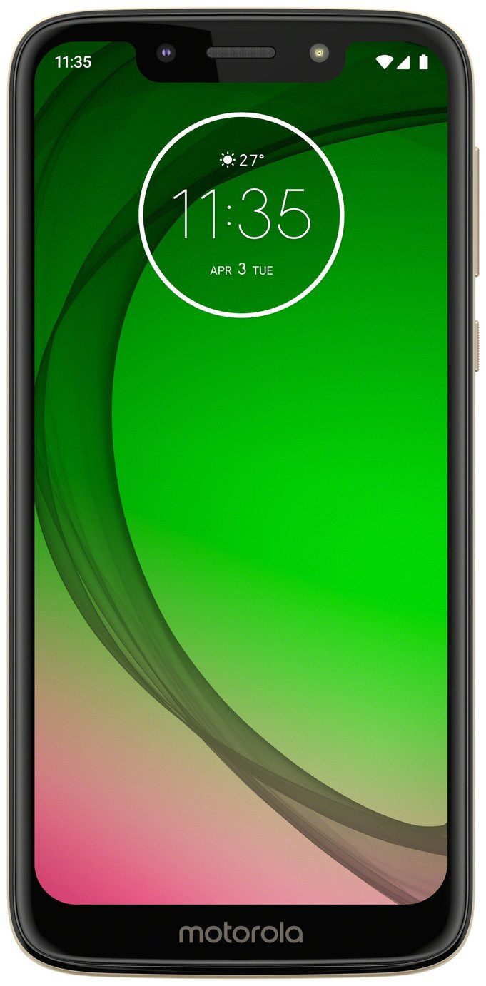 motorola moto g7 Play 5.7-Inch Android 9.0 Pie UK Sim-Free Smartphone with 2GB RAM and 32GB Storage (Single Sim) – Gold Best Price and Cheapest