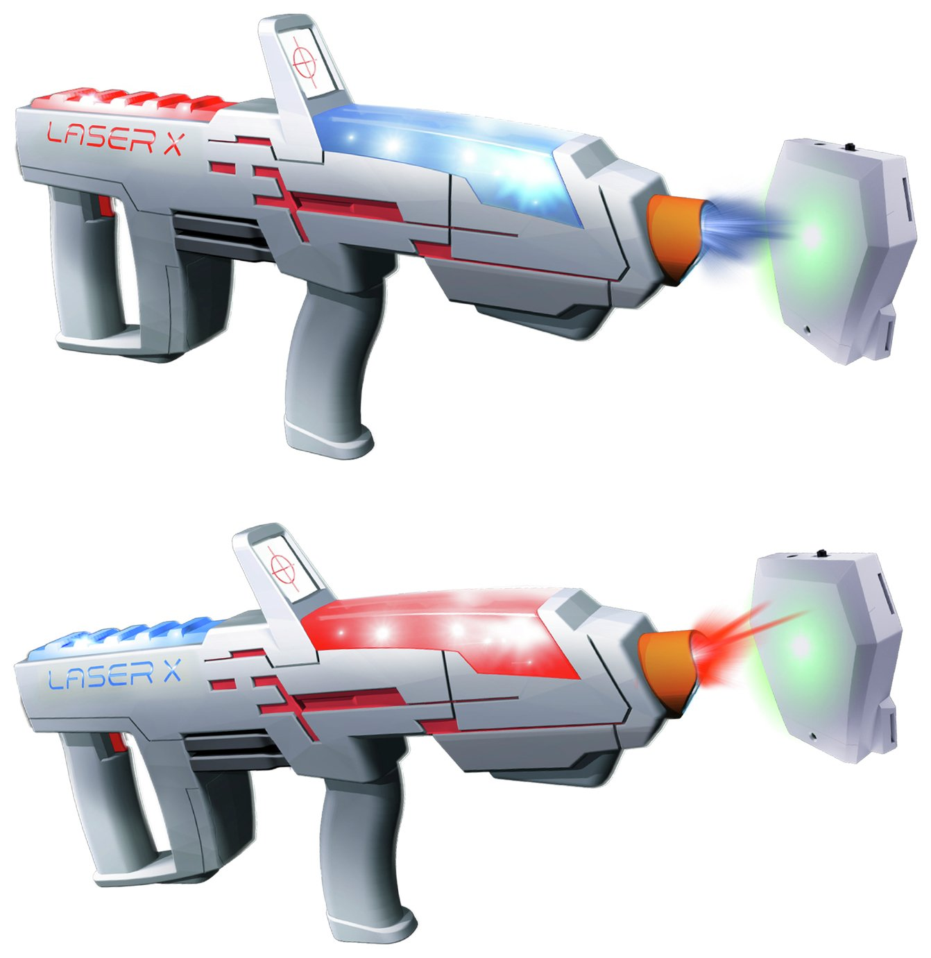 Laser X Long Range Blaster - Double Pack