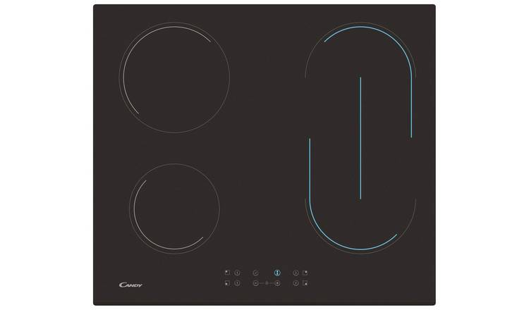 Candy CH64VBT Ceramic Touch Control Hob - Black