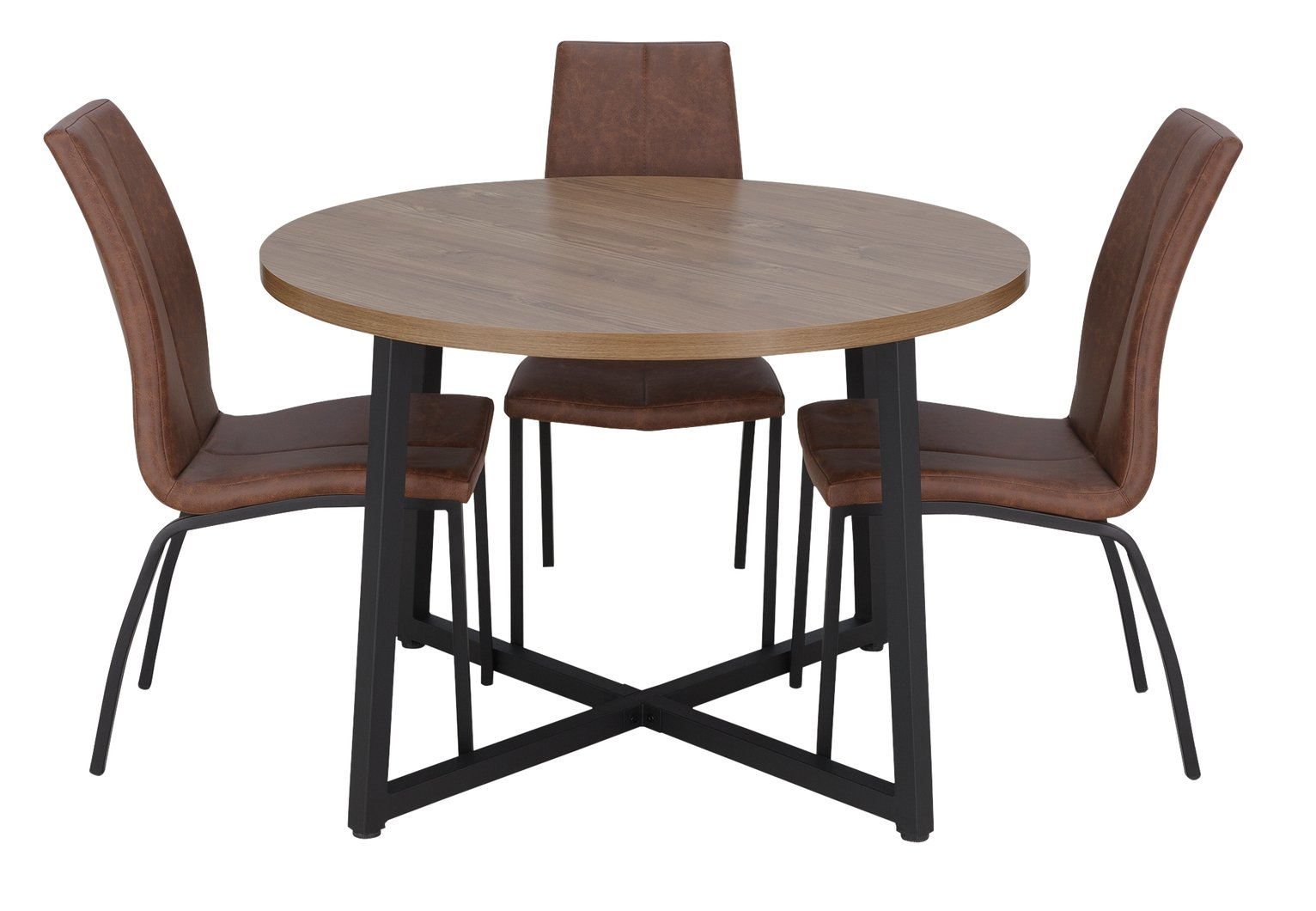Argos Home Nomad Round Dining Table and 4 Chairs Reviews