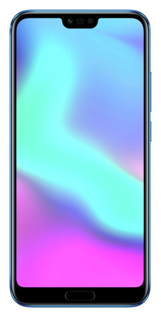 Image of Sim Free Honor 10 128GB Mobile Phone - Blue