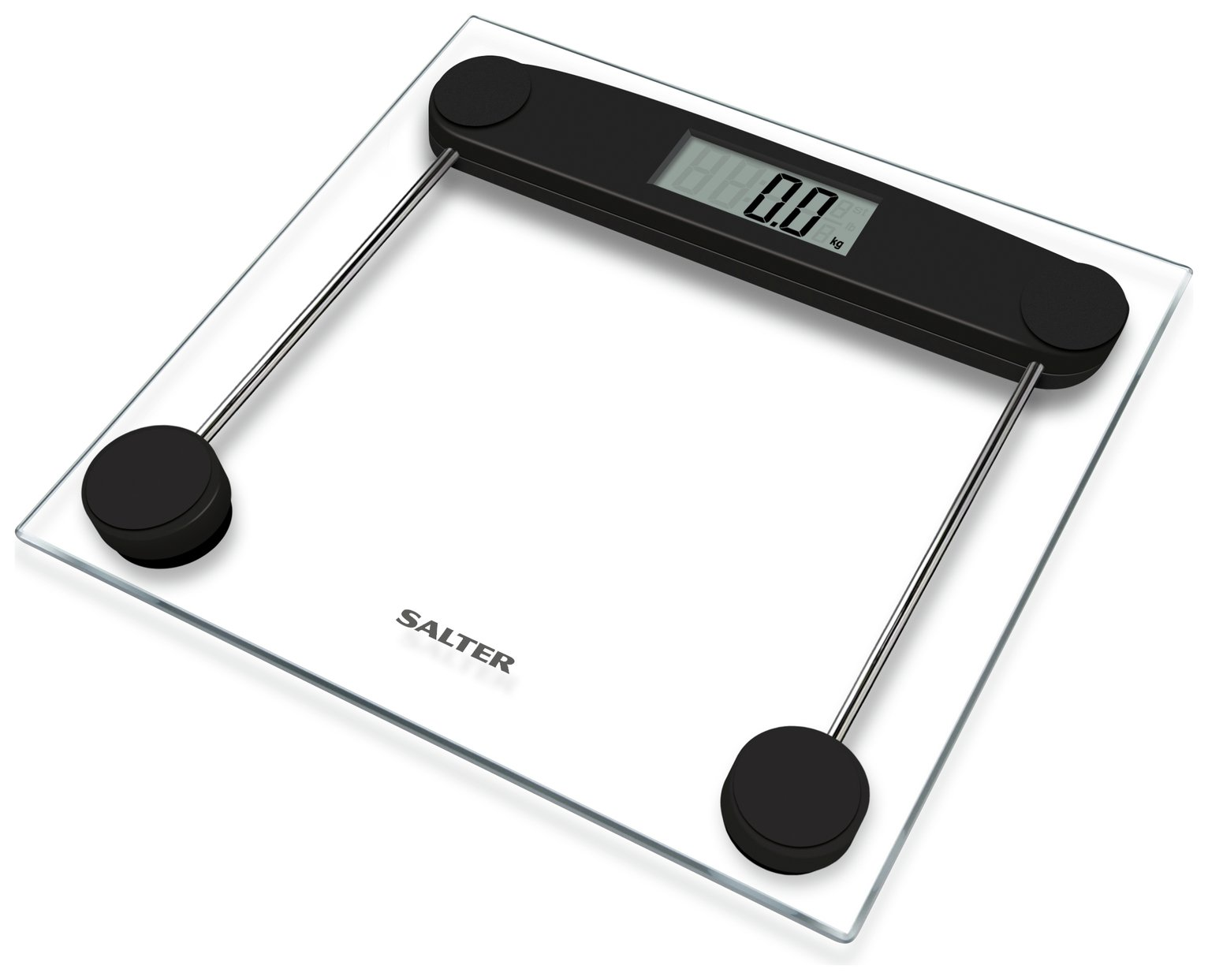 Salter Compact Clear Glass Electronic Scale