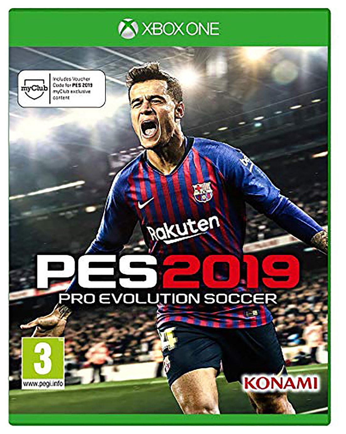 PES 2019 Xbox One Game