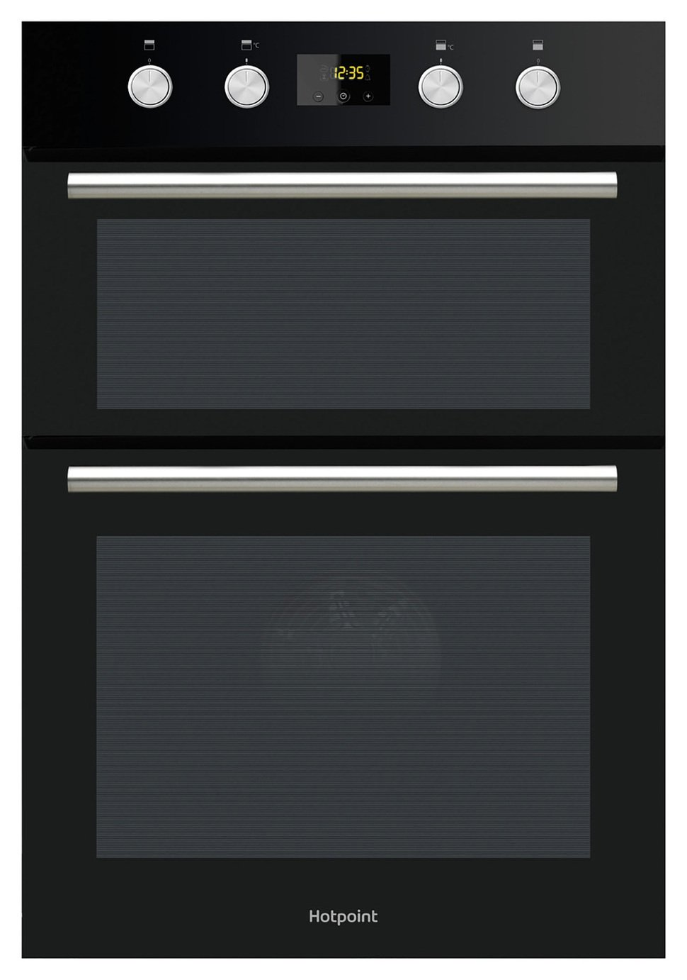 Hotpoint DD2844CBL Built-in Electric Double Oven - Black