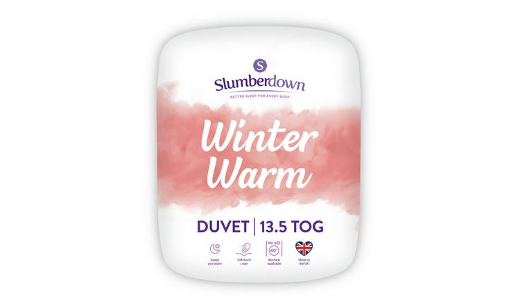 Slumberdown Winter Warm 13.5 Tog Duvet - Kingsize