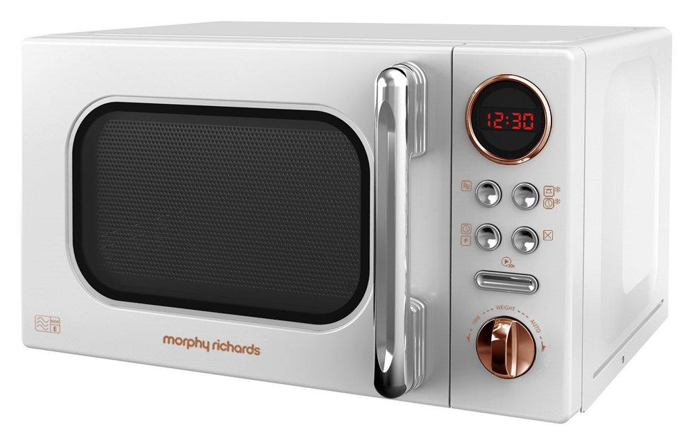 Morphy Richards Evo 800W Standard Microwave 511504 - White