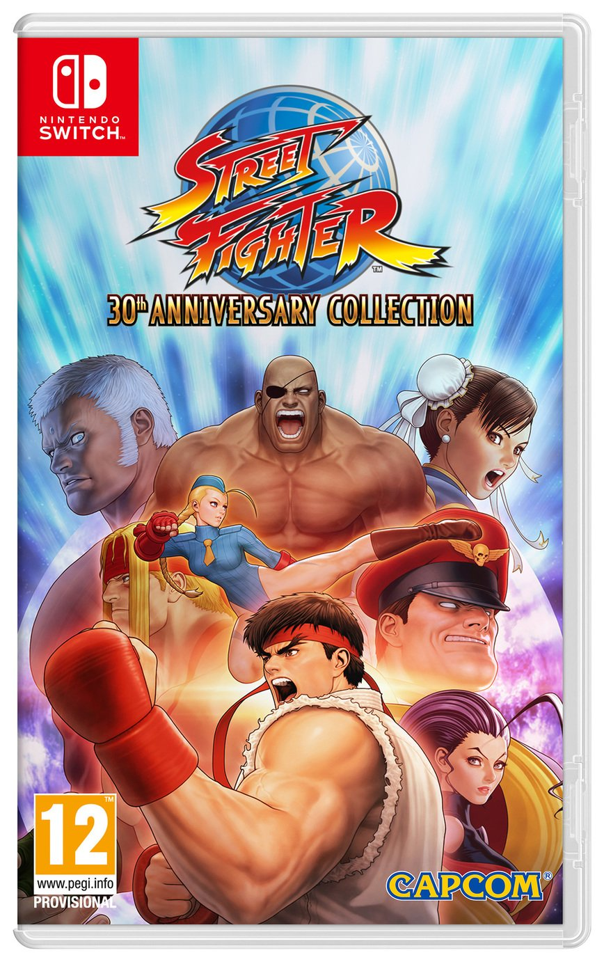 Street Fighter 30th Anniversary Edition Nintendo Switch Game