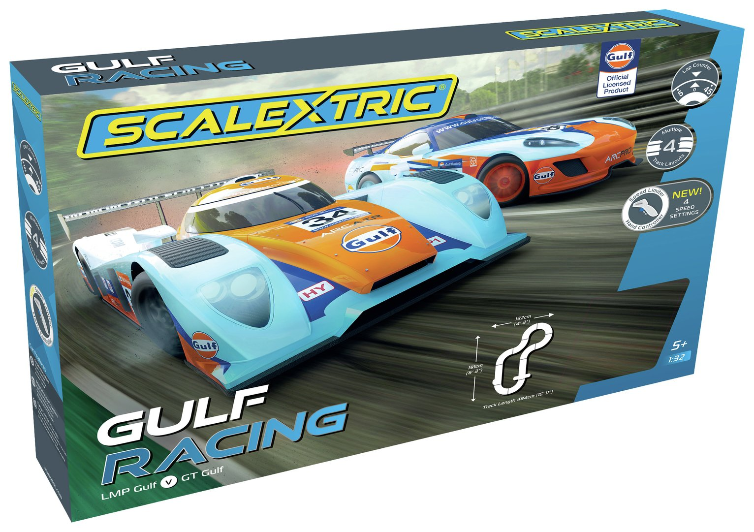 Scalextric Gulf Racing Playset