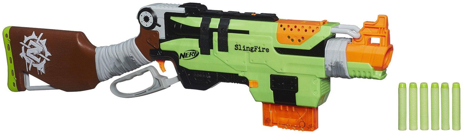 HASBRO NERF ZOMBIE STRIKE SLINGFIRE Best Price and Cheapest