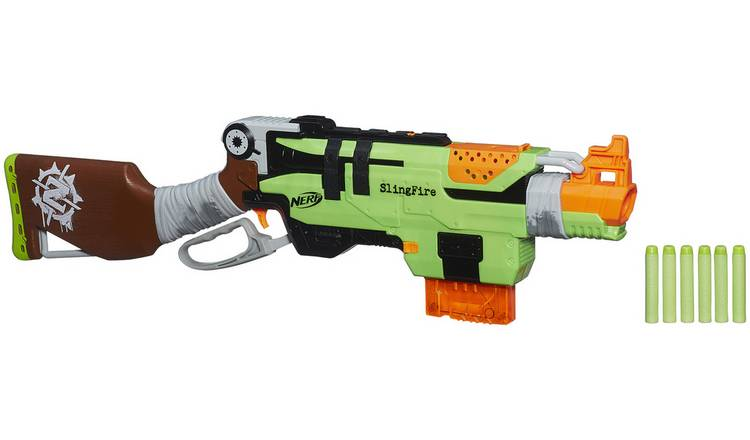 Buy Nerf Zombie Strike Slingfire Limited Stock Toys And Games Argos