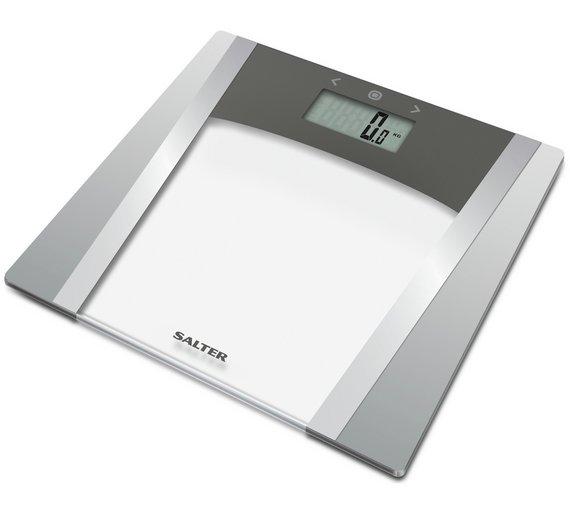 buy salter large display body analyser scale - glass | bathroom ...