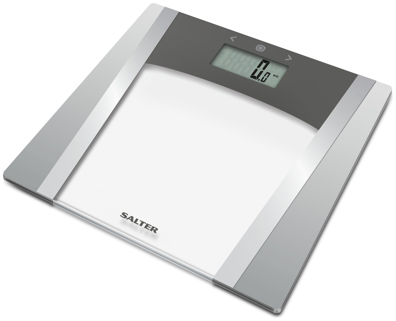 buy salter large display body analyser scale - glass | bathroom ...