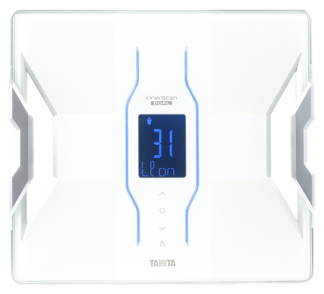 buy tanita smart scale with body composition - white | bathroom ...