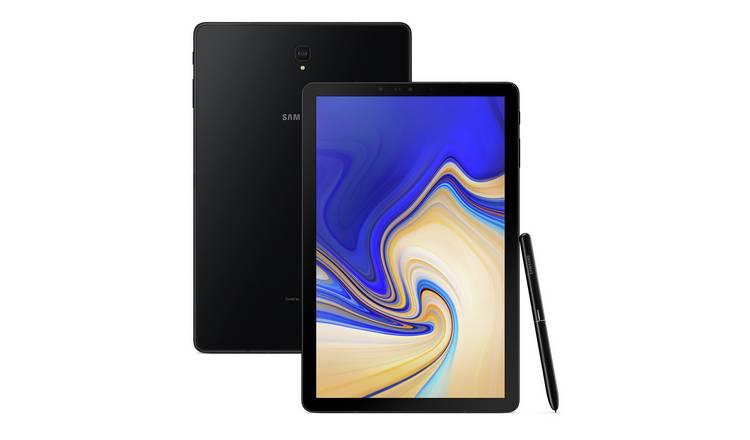 Buy Samsung Galaxy Tab S4 10 5 Inch 64GB Tablet - Black | Tablets | Argos