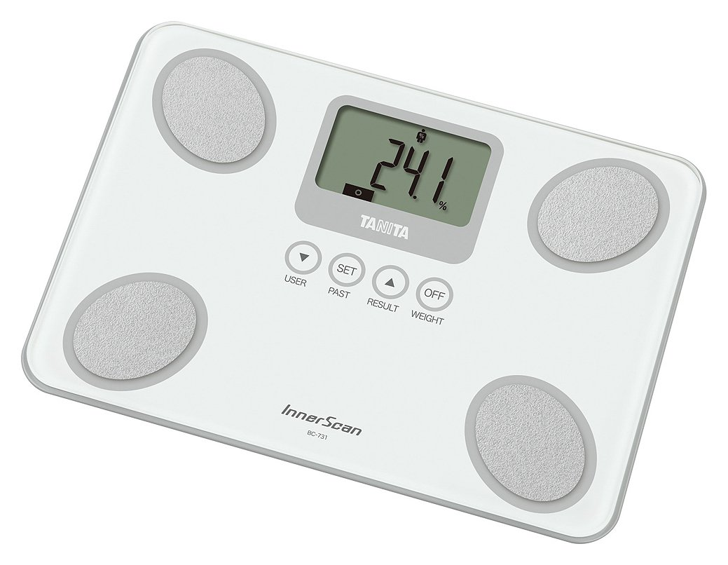buy tanita bc731 body composition monitor scales - white | bathroom ...