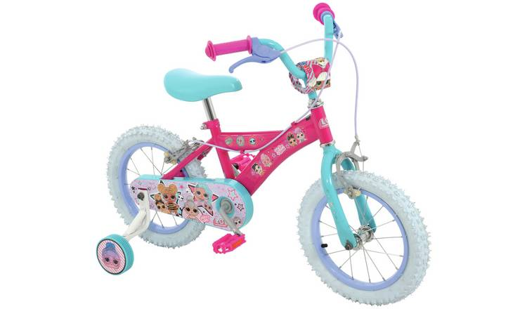 LOL Surprise 14 inch Wheel Size Kids Bike