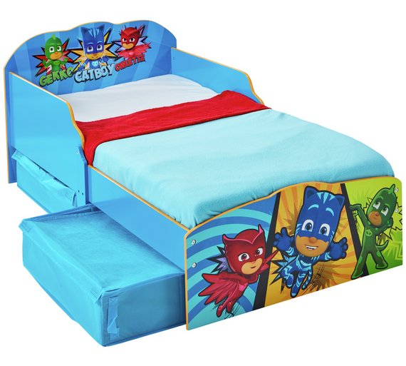 Buy Argos Home Pj Masks Toddler Bed With Underbed Storage Kids