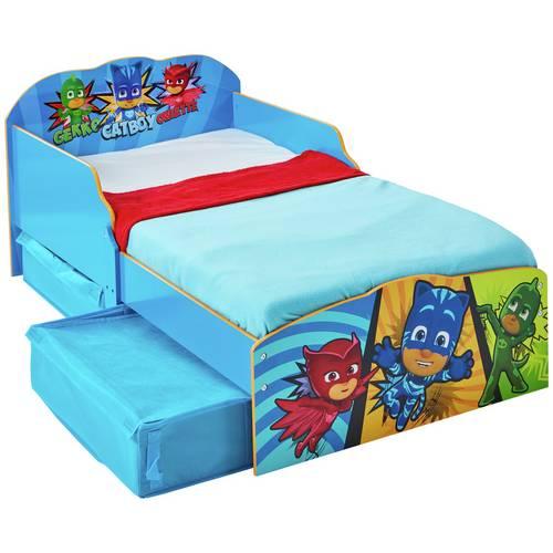Buy Argos Home PJ Masks Toddler Bed with Underbed Storage   Kids beds    Argos