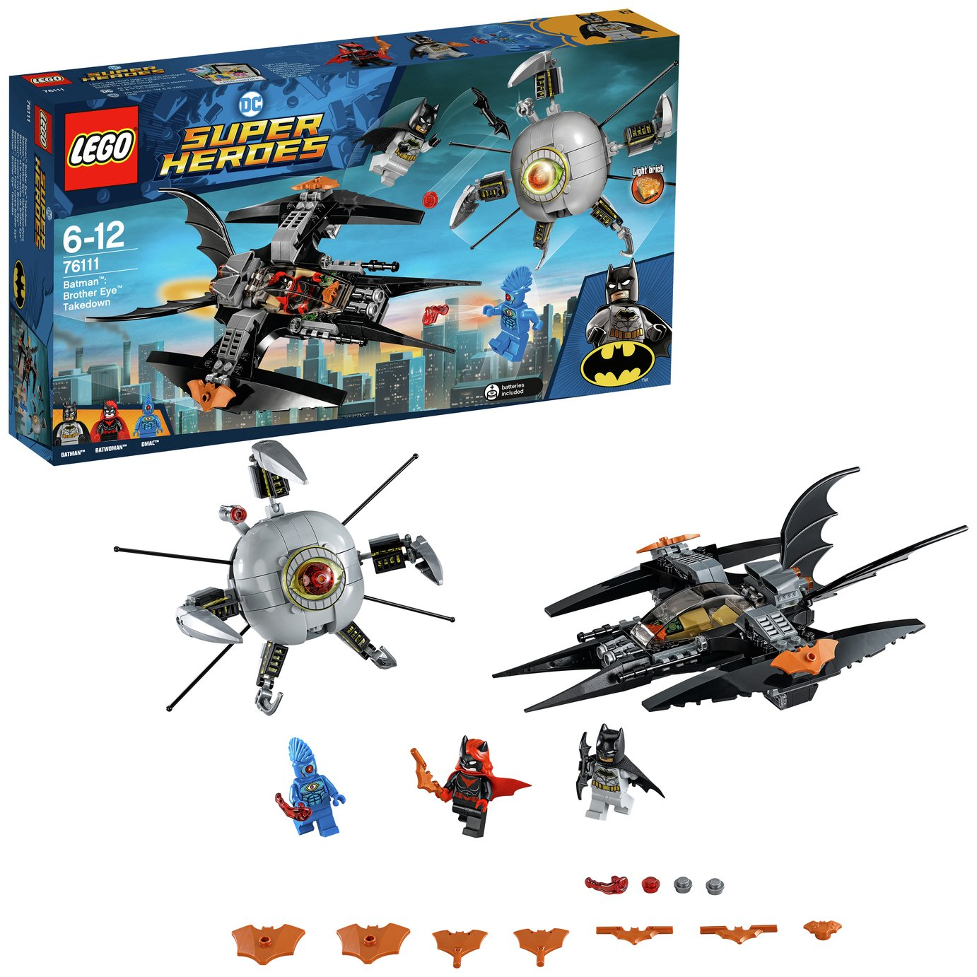 LEGO Super Heroes Batman Brother Eye Takedown - 76111