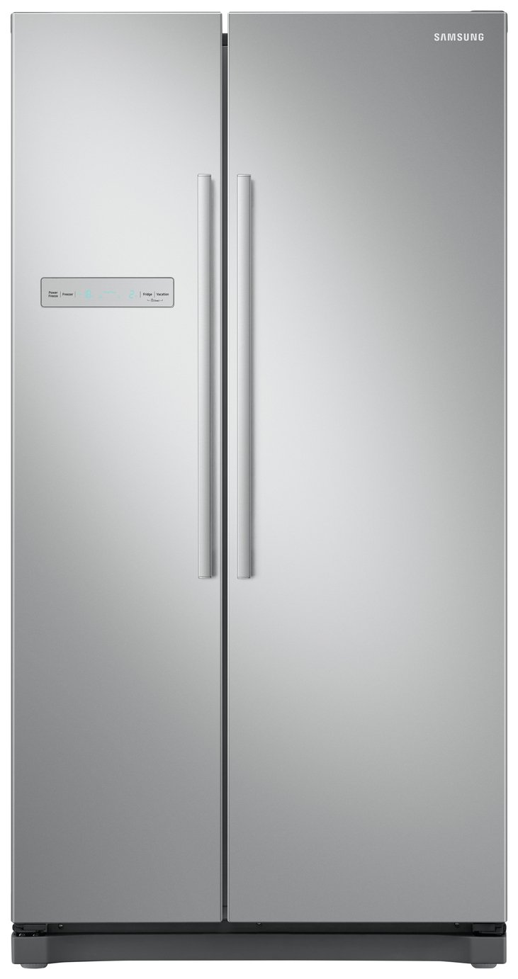 Samsung RS54N3103SA/EU American Fridge Freezer - Graphite Best Price, Cheapest Prices