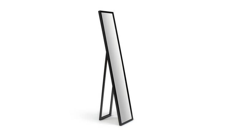 Argos Home Full Length Cheval Mirror - Black