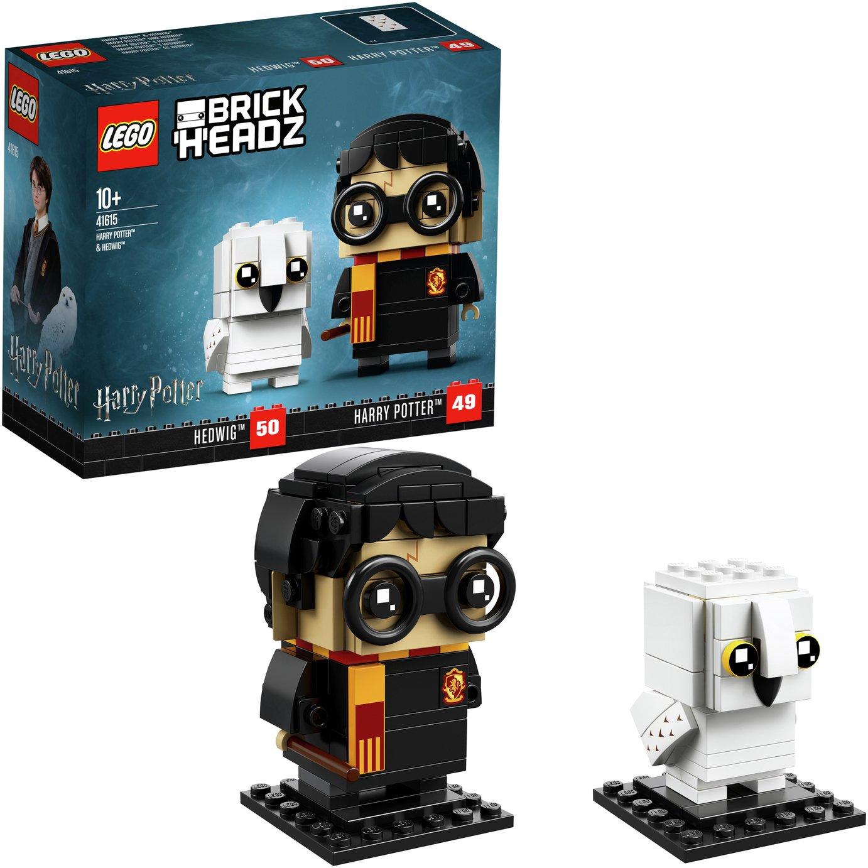 LEGO Harry Potter Brickheadz Harry Potter & Hedwig - 41615
