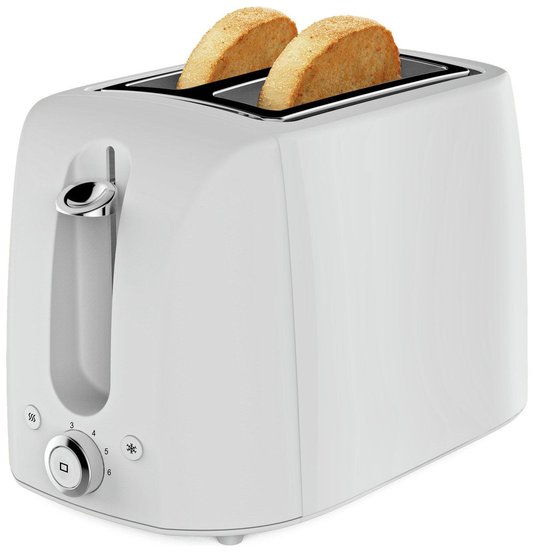 Cookworks 2 Slice Toaster - White