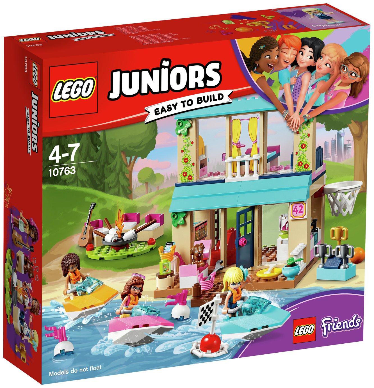 LEGO Juniors Stephanie's Lakeside House, Dollhouse - 10763