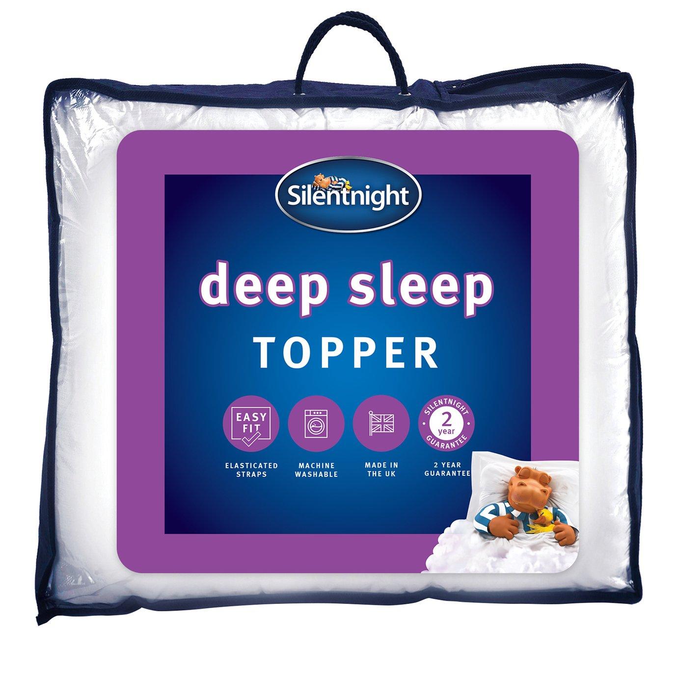 Silentnight Deep Sleep Mattress Topper Kingsize