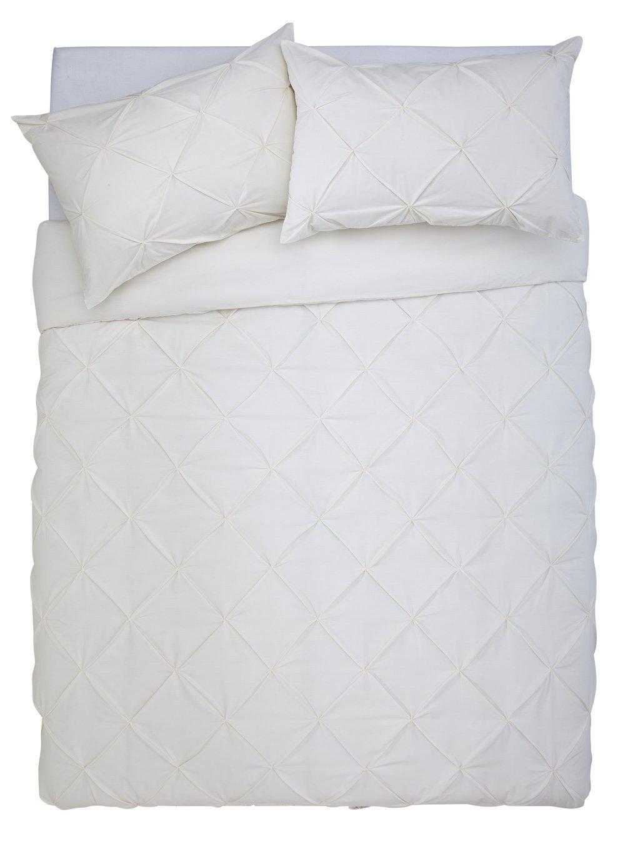 Argos Home Hadley Pintuck Bedding Set