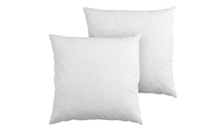 Argos Home Feather 50x50cm Cushion Pads - 2 Pack