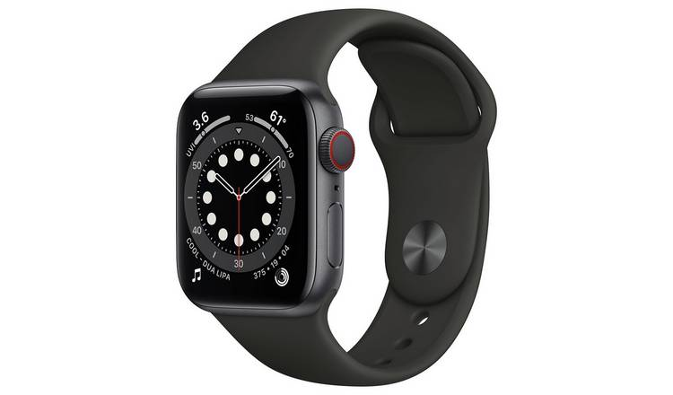 Apple Watch Series 6 Cellular 40mm SG Alu Case/Black S Band
